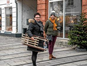 Se billederne: Musik og nissebesøg i Løgstør