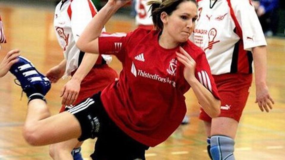Heidi Hoelgaard scorede tre gange for Vestervig i kampen mod Vinderup. Arkivfoto