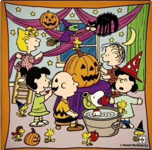 Halloween - en mystisk, stemningsfyldt aften ... Privatfoto.