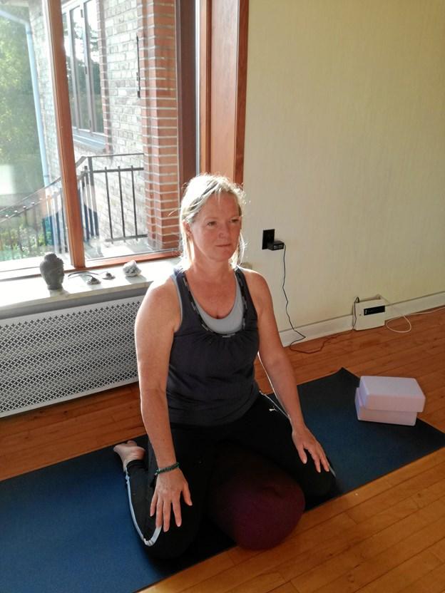 Ashtanga yoga er en yoga disciplin, der arbejder med smidighed, åndedræt og på at mærke din egen krops både formåen og grænser. Privatfoto