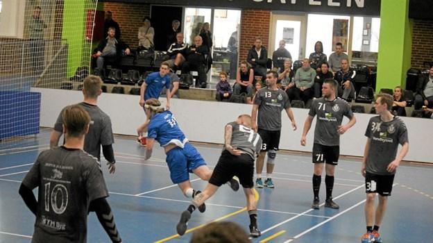 Aalborg KFUM var flyvende ind over stegen og scorede mange mål. Foto: Flemming Dahl Jensen Flemming Dahl Jensen