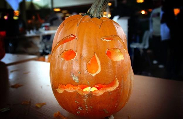 Ordet Halloween kommer af 'All-Hallow-Even' og betyder faktisk 'alle helgeners aften'.Foto: Diana Holm.