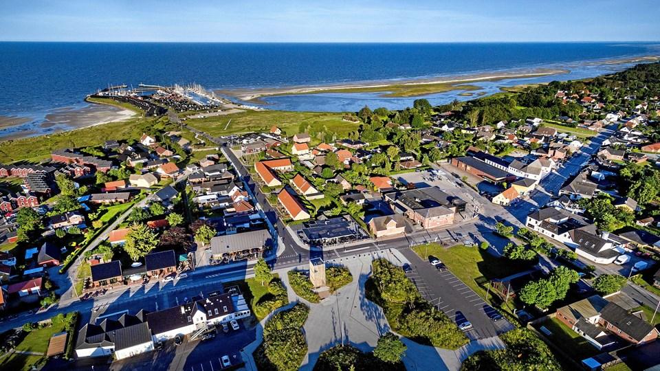 Der er langt her fra Øster Hurup og kattegatskysten til Løgstør og Limfjorden - også for langt til et turismesamarbejde mellem Mariagerfjord og Vesthimmerland, hvis Rebild i midten ikke vil være med, mener S-byrådsmedlem i Vesthimmerland. Arkivfoto: Torben Hansen