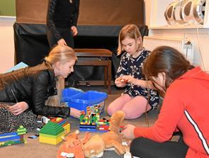 Hyggelig eftermiddag for børn i Jerslev
