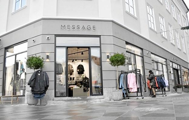 Der bliver tre Message-butikker i Oslo.