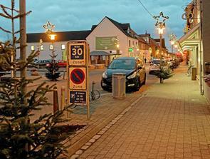 Sindal by klar til den store julehandel
