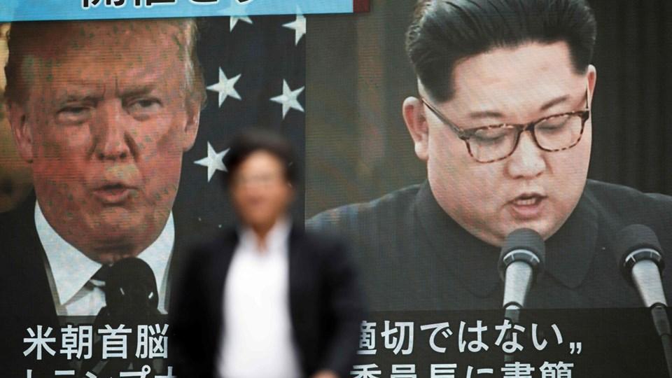 Japans forsvarsminister, Itsunori Onodera, siger i en indtrængende erklæring til det internationale samfund til at opretholde sanktioner og overvågning af Nordkorea, fordi landet gennem historien har brudt og svigtet mange aftaler. Foto: Behrouz Mehri/Ritzau Scanpix