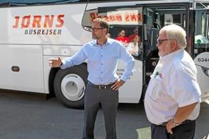 Busser klar til Dana Cup 2019