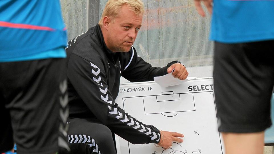 Bo Zinck har en spændende trup at arbejde med og er ovenud tilfreds med transfervinduet. Foto: Flemming Dahl Jsen