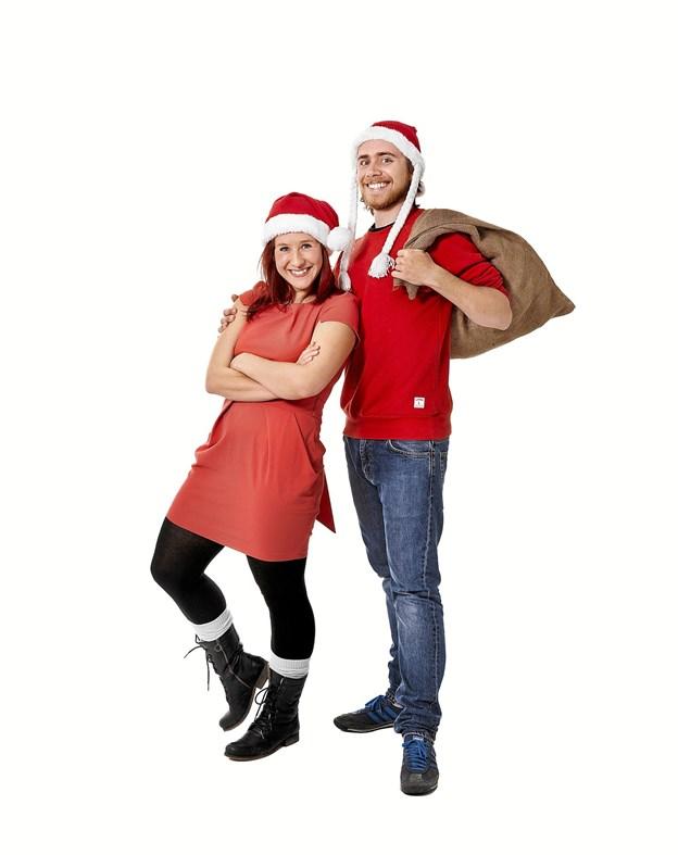 Anders & Katrine starter julemåneden på Kappelborg i godt selskab med Lille Nørdbandet, lørdag 1.december kl. 14. Foto: PR - foto