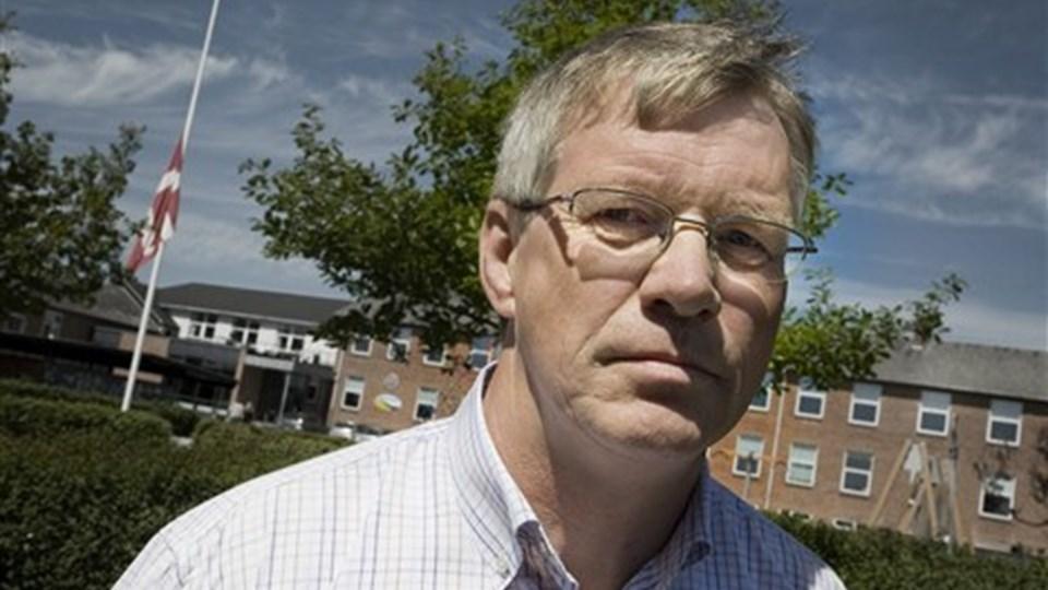 Skoleleder Jens Laurids Pedersen er dybt berørt af tragedien i Tyskland