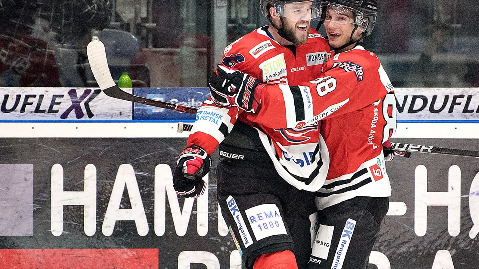 Aalborg Pirates slog Herning Blue Fox 2-0. Foto: Hans Ravn