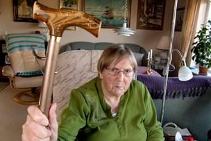 86-årige Ruth om fræk listetyv: - Jeg skulle have givet ham en med stokken