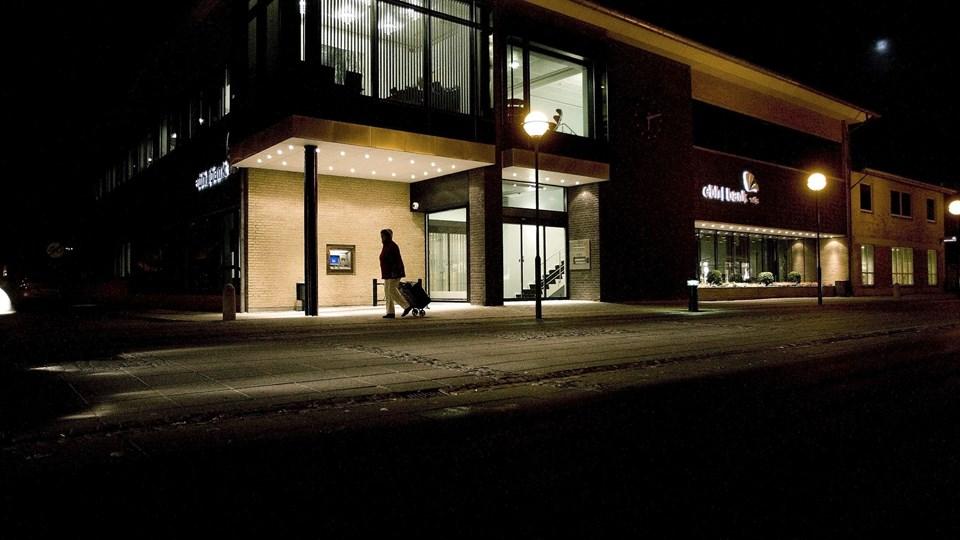 Ebh-fonden udbetalte ifølge Finn Strier Poulsen ikke bonus til bankens direktion for at holde lønnen skjult. Arkivfoto