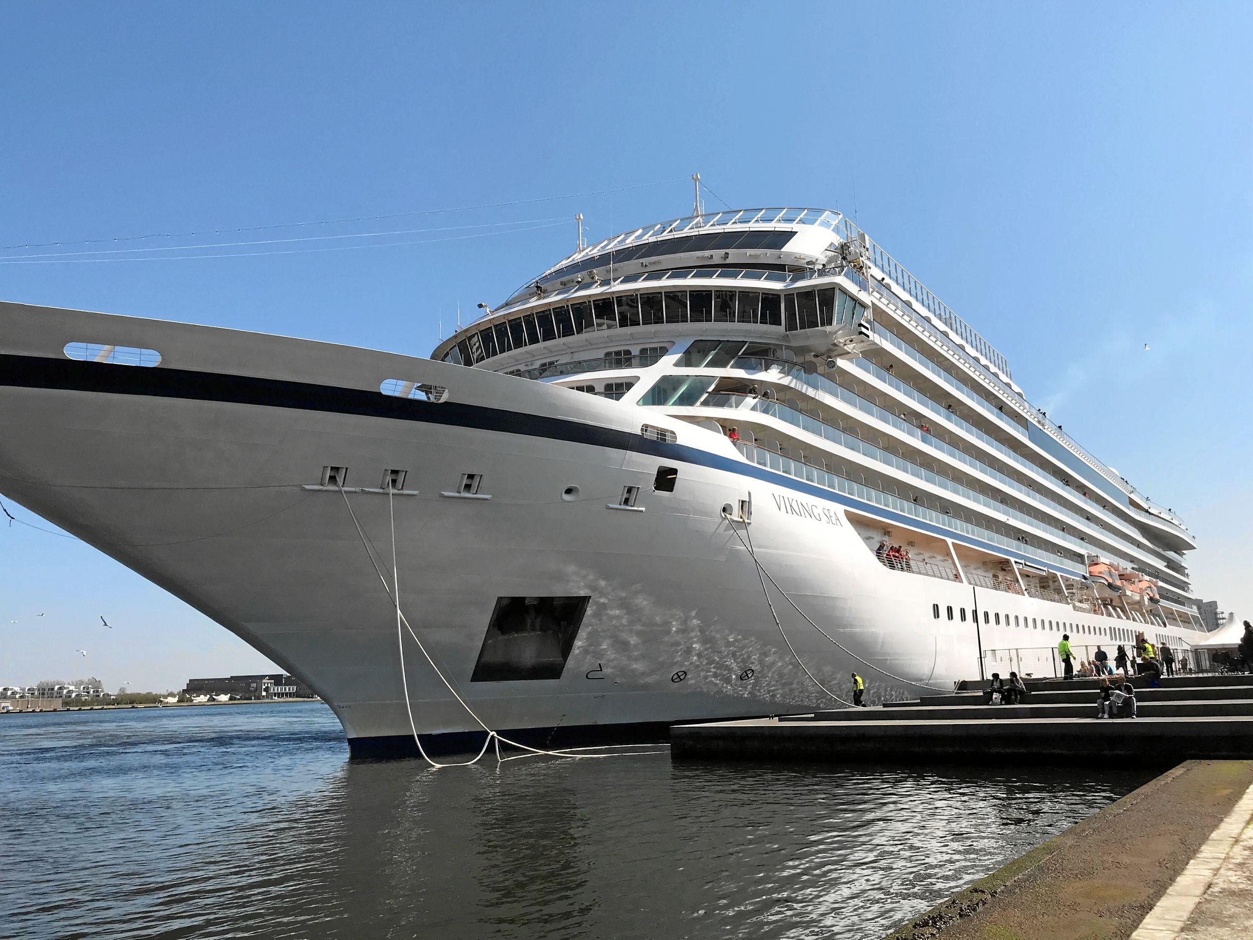 Ship ohøj - det første krydstogtskib skyder nu sæsonen i gang i Aalborg