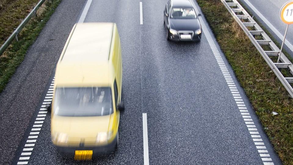 Håndværkeres varevogn er blevet et nyt mål for organiseret tyveri, skriver Jyllands-Posten. Foto: Free/Colourbox