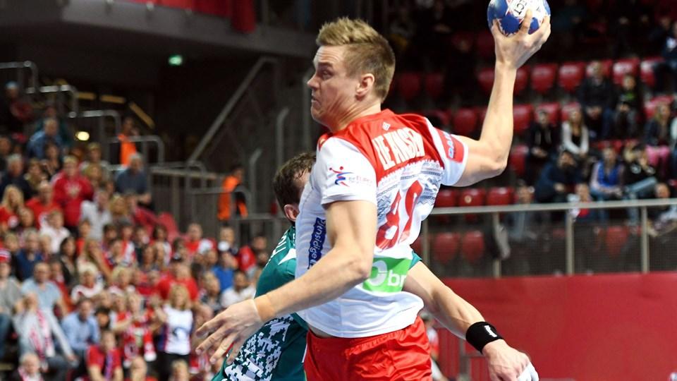 Espen Lie Hansen skifter fra HC Midtjylland til Nantes. Foto: Scanpix/-