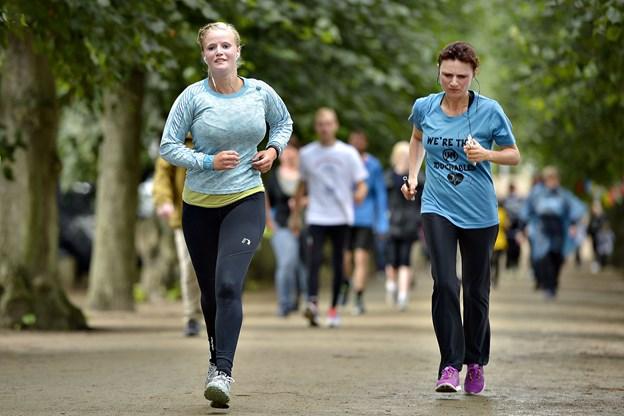 Der er også mulighed for at deltage i en hel eller halv maraton. Arkivfoto: Claus Søndberg