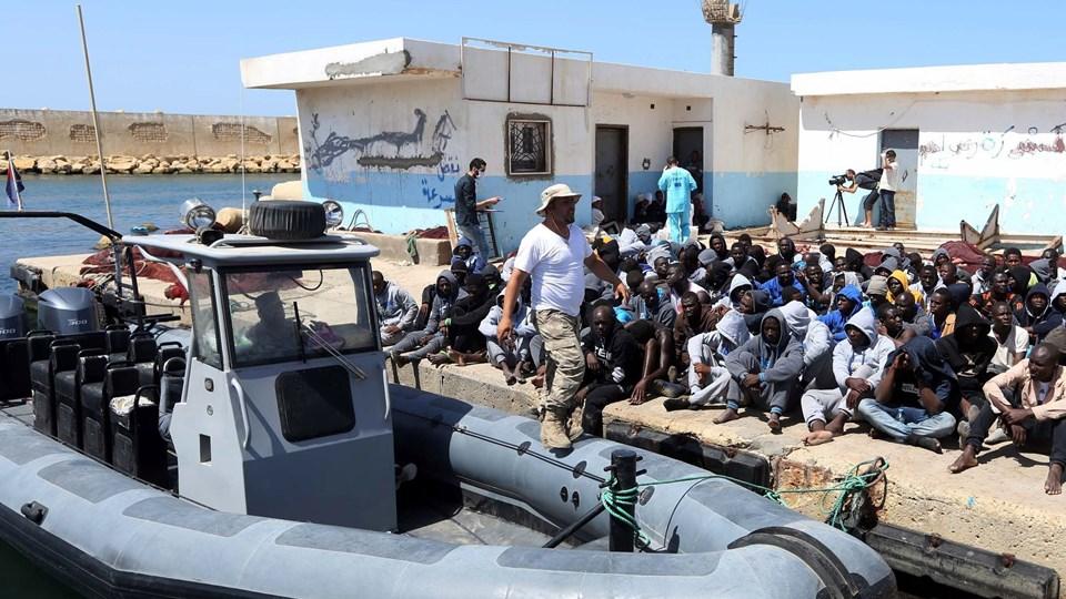 Libyen Foto: Scanpix/Mahmud Turkia
