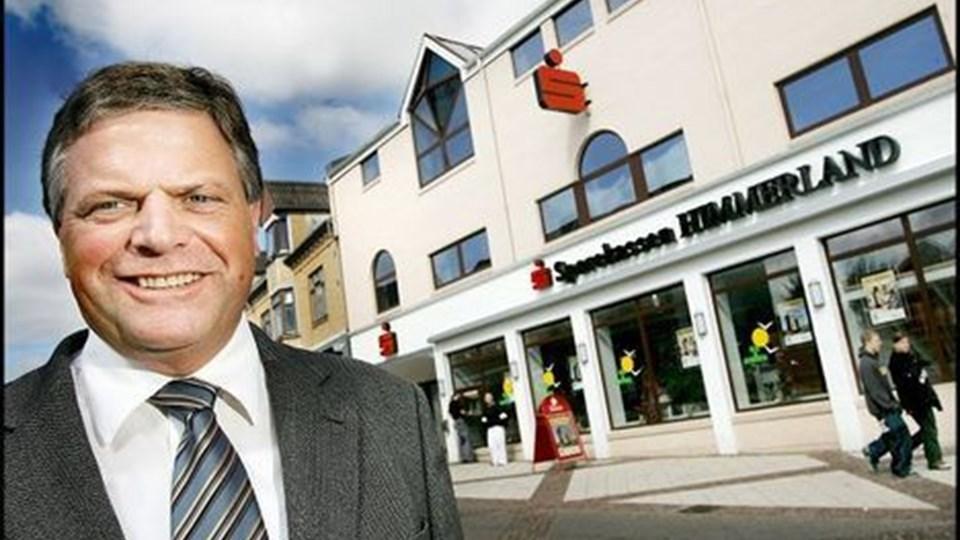 Svend Jørgensen: - Vi har netto fået 3000 flere kunder det seneste år, og det er klart, at det giver større indtægter. Arkivfoto: Lars Pauli