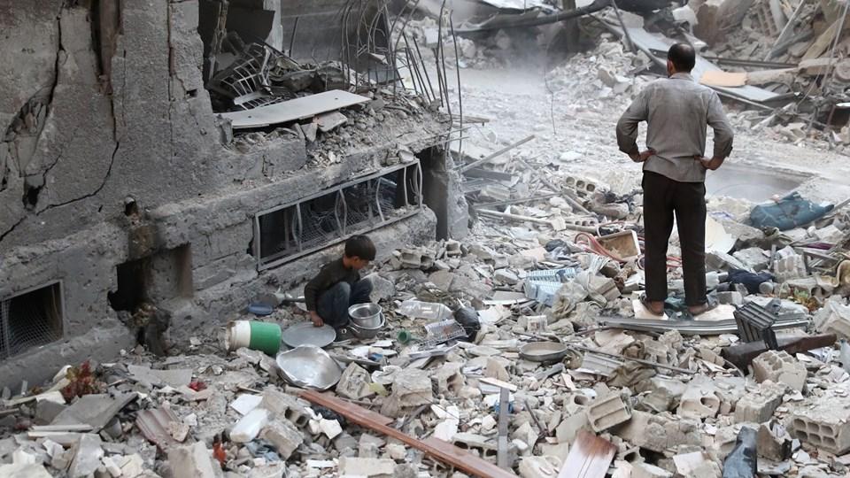 TOPSHOT-SYRIA-CONFLICT Foto: Scanpix/Abd Doumany