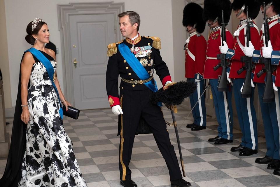 Kronprins Frederik og Kronprinsesse Mary. Foto: Martin Sylvest/Scanpix Ritzau