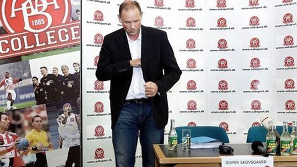 Ifølge direktør Jesper Skovsgaard skal der rejses en vis portion penge, før man kan overtage Aalborg DH. Arkivfoto: Lars Pauli