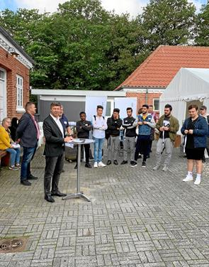 FGU Himmerland i Hobro havde første skoledag