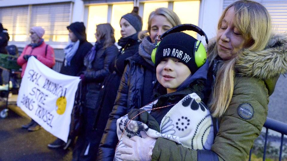 Foreningen for forældre til bøn med særlige behov har også tidligere protesteret mod forslag om at ændre Aalborg Kommunes model for specialundervisning. Arkivfoto: Henrik Louis