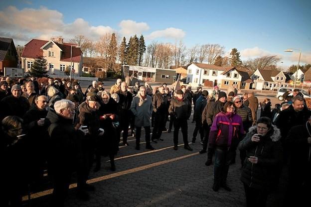Soltorvet i Lendum Foto: Peter Jørgensen Peter Jørgensen