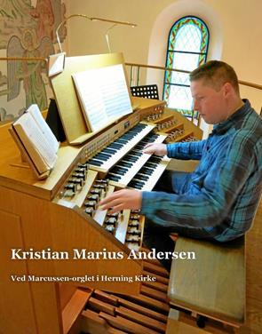 Improvisationens mester på orglet i Ø. Hurup Kirke
