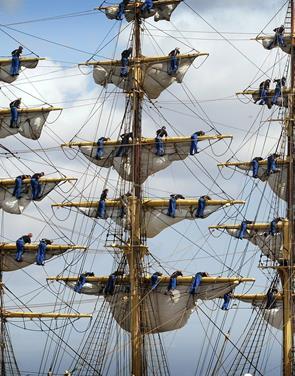 Verdens ældste skoleskib kaster glans over Aalborg
