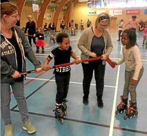 Red Barnet på rulleskøjter