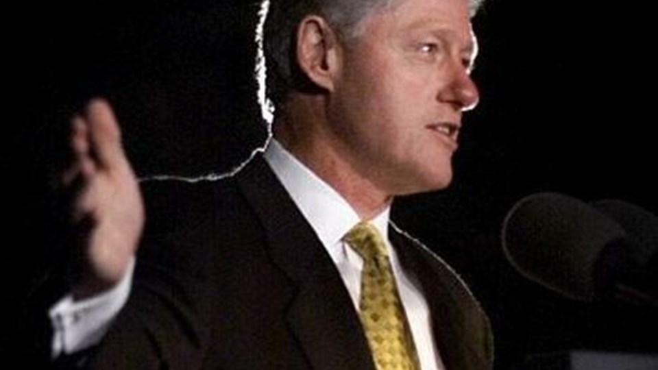Når man har været præsident i USA, kan man ikke bare blande sig med almindelige mennesker. Arkiv foto.