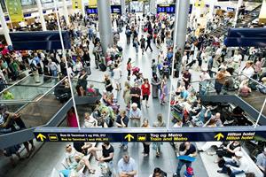 To flykonkurser forhindrer rekord hos Københavns Lufthavn