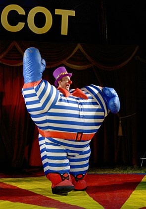 Cirkus i plantebutik