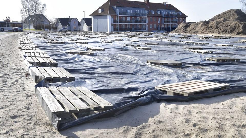 Sygehusgrunden har hele tiden kunnet bebygges med op til 11 meter, derfor afviser Brønderslev Kommune indsigelserne over det ønskede etagebyggeri.Arkivfoto: Bente Poder
