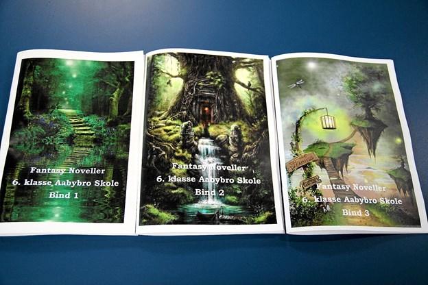 Alle novellerne er udgivet til 6. klassernes elever.