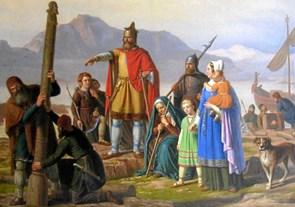 Fortæller om de islandske sagaer