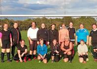 Motionsfodbold for kvinder i gang i Klejtrup Boldklub