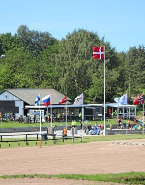 Internationalt race på Ørnedalsbanen