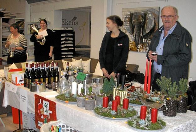 Der er stemning og stande i massevis til julemessen i Vils. Arkivfoto: Jens Peter Svarrer.
