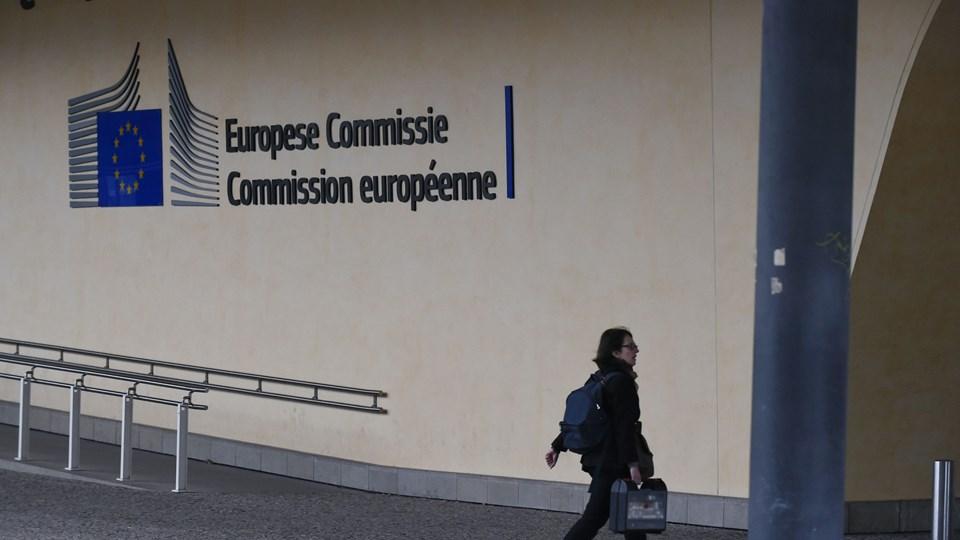 EU-Kommissionen skriver i en pressemeddelelse, at man har bedt det europæiske banktilsyn, EBA, om at undersøge Finanstilsynets ageren i sagen om Danske Bank. (Arkiv)