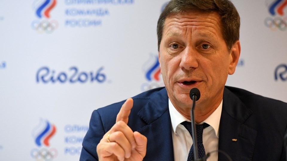 Præsident for Ruslands Olympiske Komitee, Alexander Zhukov, har valgt at trække sig som formand. Det sker efter flere dopingsager i Rusland. Foto: Scanpix/Kirill Kudryavtsev/arkiv