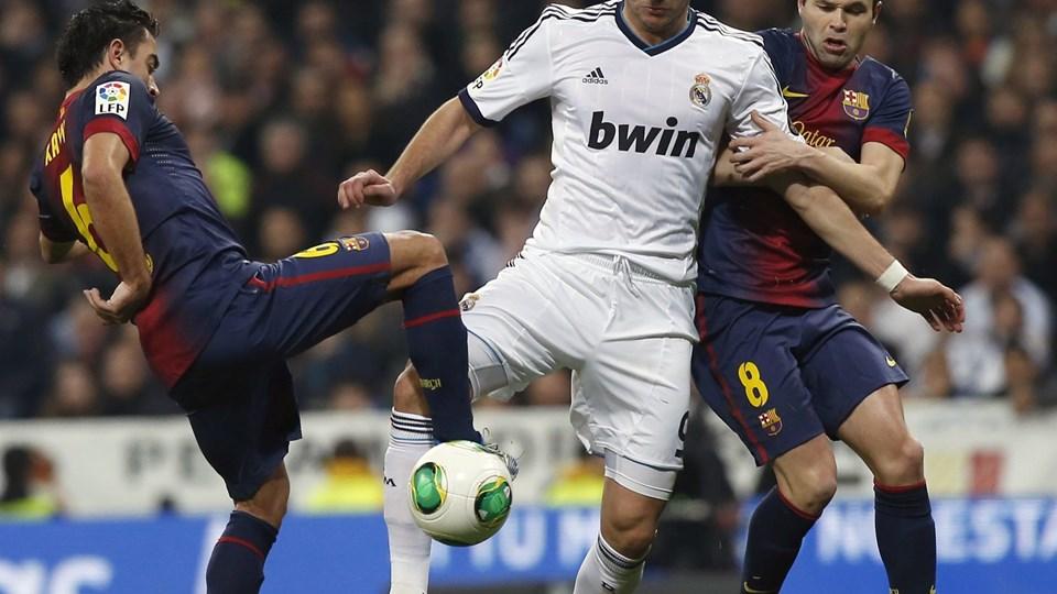 Karim Benzema er sigtet for hasarderet kørsel. Foto: Juan Medina/Scanpix