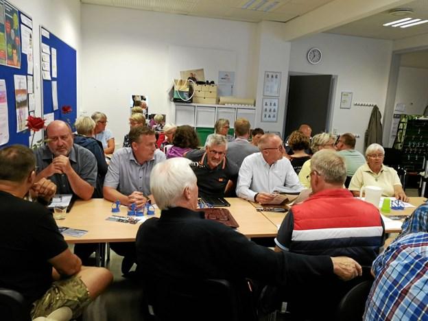 Dialogmødet havde Frivilligcentret indbudt til. Privatfoto