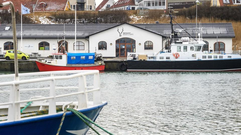 Restaurant Abstrakt i Hirtshals. Foto: Peter Broen