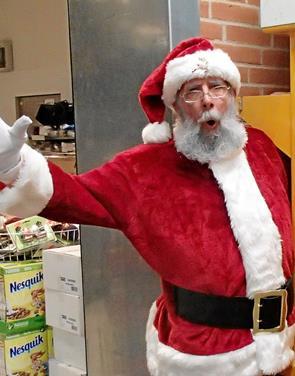 Julemanden er i Bindslev den 21. juni