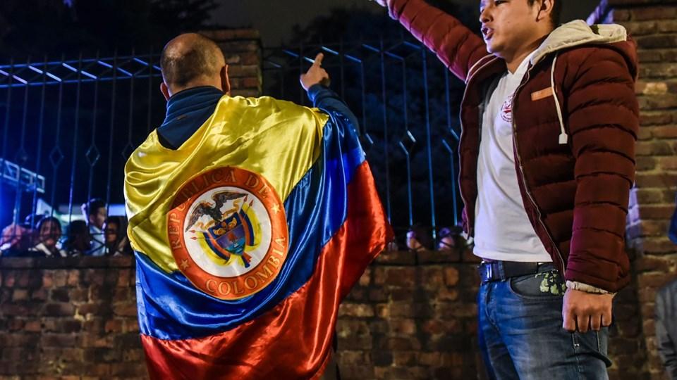 COLOMBIA-REFERENDUM-VOTE-RESULTS Foto: Scanpix/Luis Acosta