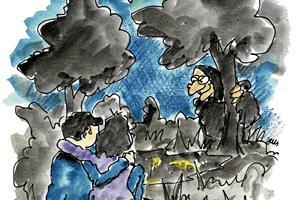 Et højt kvæk: Mystisk latter under hekseafbrænding i Knivholt opklaret